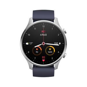 Smartwatch Xiaomi Mi Watch Color - GPS - Preto/Azul