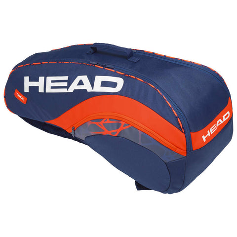 Head Radical 6R Combination Tennis bag -Lowest prices- with FREE EBook