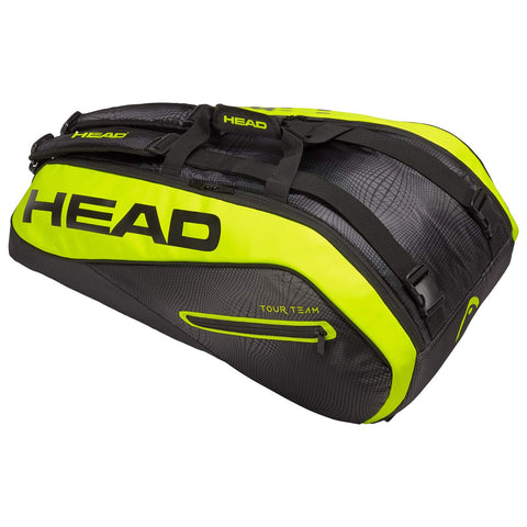 Head Extreme 9R Supercombination Tennis Bag with FREE tennis tips book