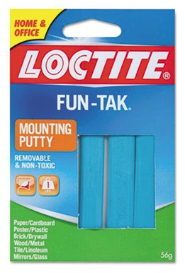 Fun-Tak Mounting Putty