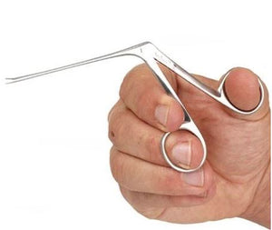 Alligator Forceps, Stainless Steel - Ultra-Fine, 3.5mm Jaw