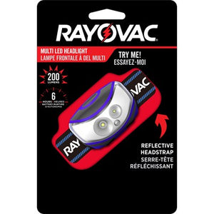 Rayovac Multi LED Headlight