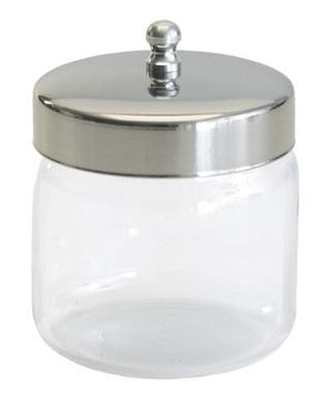 Glass Dressing Jar with Lid - 3x3""
