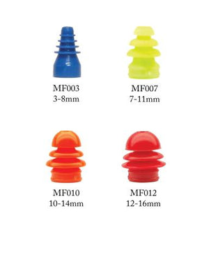 Multi-Size (Flanged) Single Use Eartips