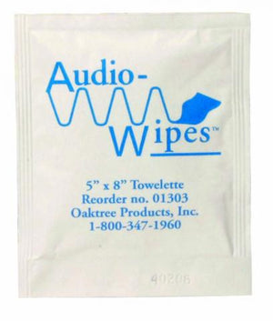 Audio Wipes Singles (100/box)