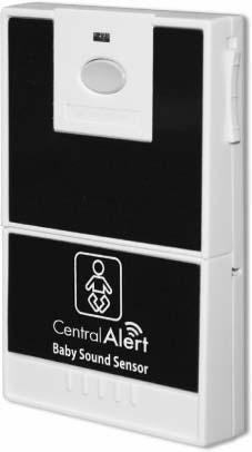 CentralAlert Real Time Baby Cry Sensor Model CA-BX