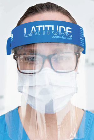 Latitude PLUS Face Shield