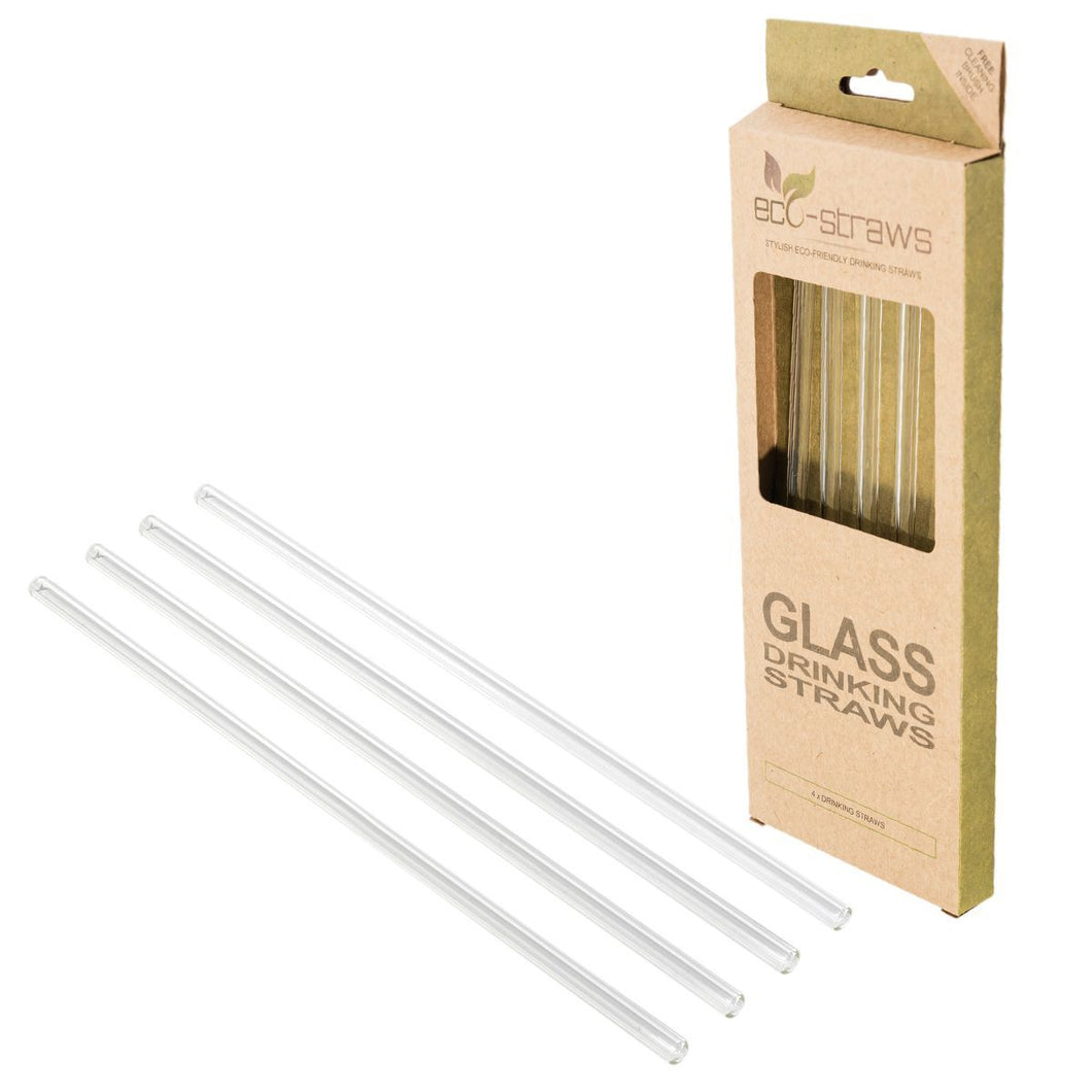 GLASS REUSABLE STRAWS - Boston Shakers Cocktails