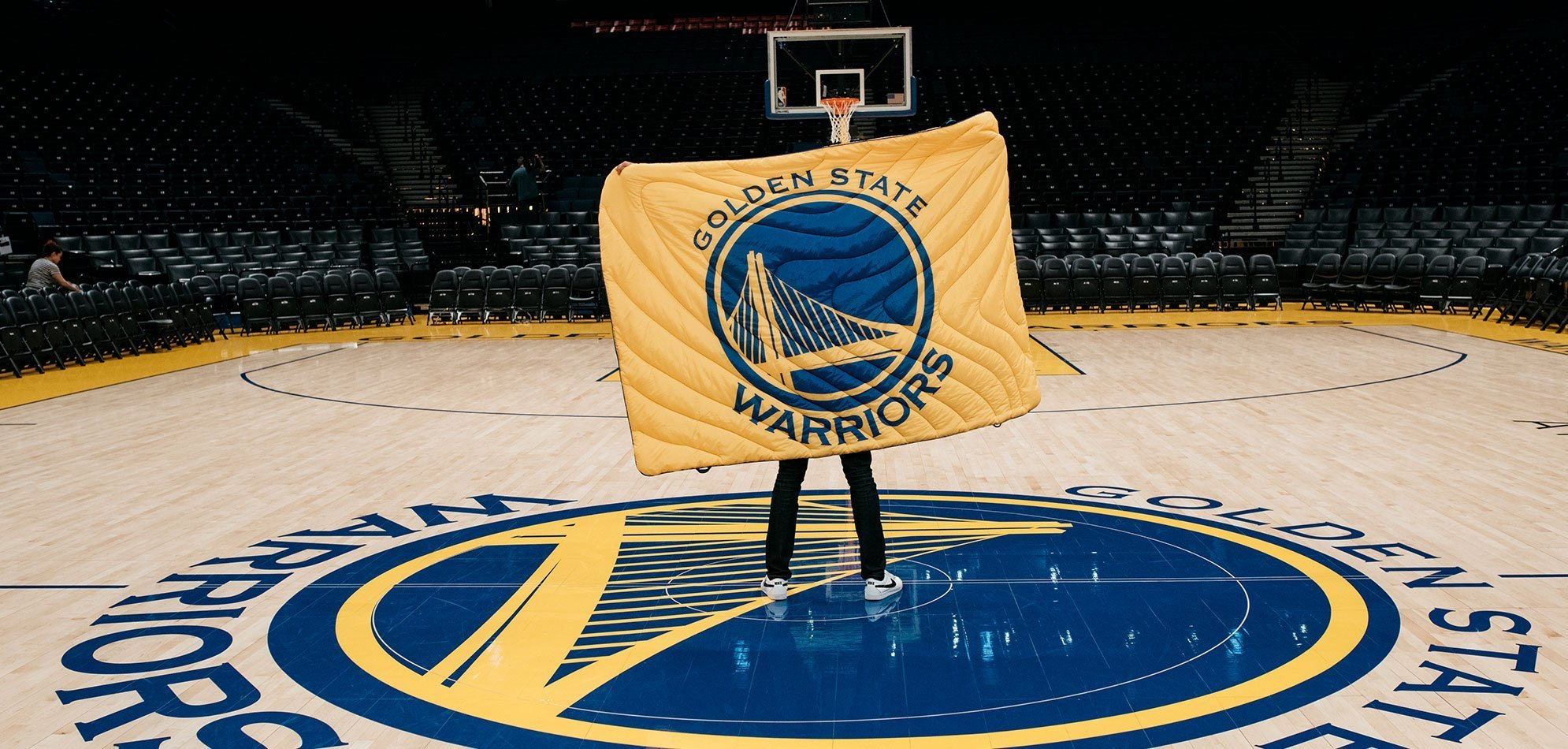 Golden State Warriors Blanket