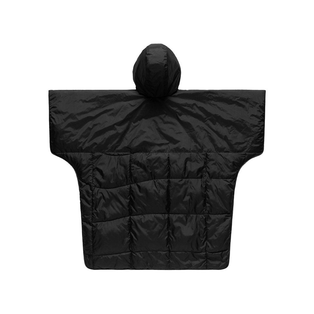 Rumpl | NanoLoft® Puffy Poncho - Black | One Size |  | Reversible Poncho