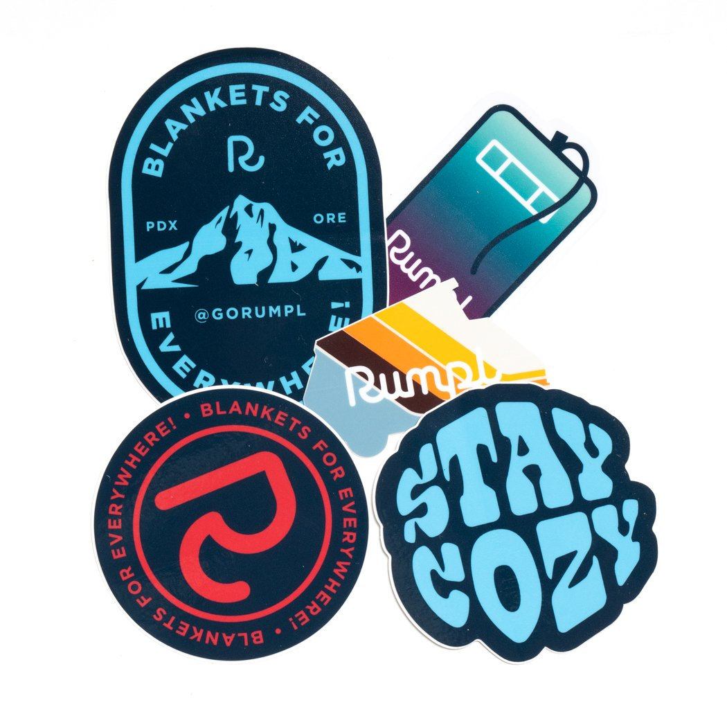 Rumpl | The Sticker Pack | 5-Sticker Pack |  | Sticker Pack