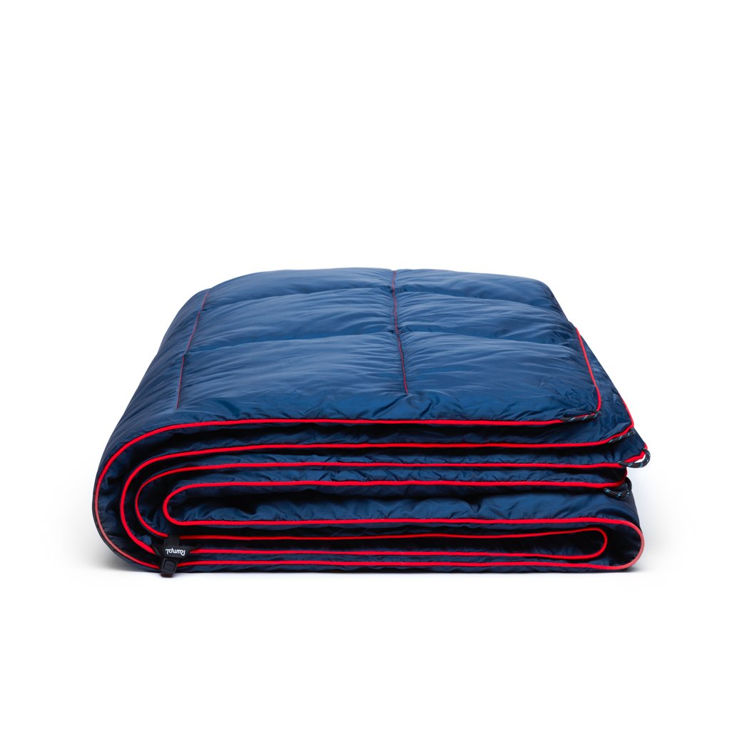 Rumpl | Down Puffy Blanket - Deepwater | 1-Person |  | Solid Down