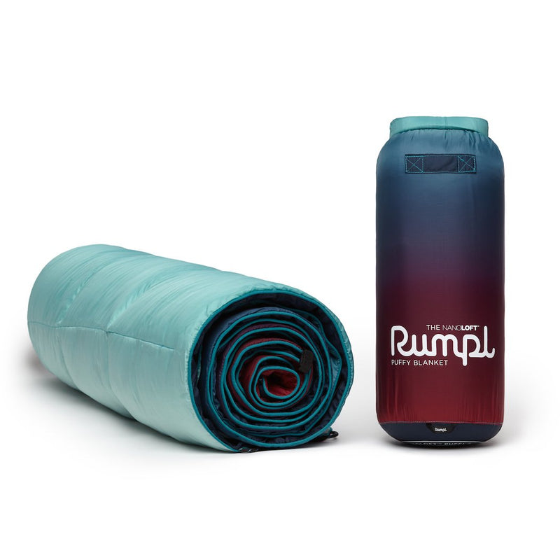 Rumpl | NanoLoft® Puffy Blanket - Crisp Fade | 1-Person |  | Printed Nanoloft