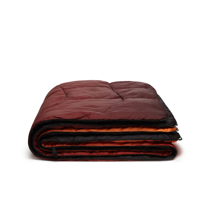 Rumpl | NanoLoft Puffy Blanket - Fire Fade | 1-Person |  | Printed Nanoloft