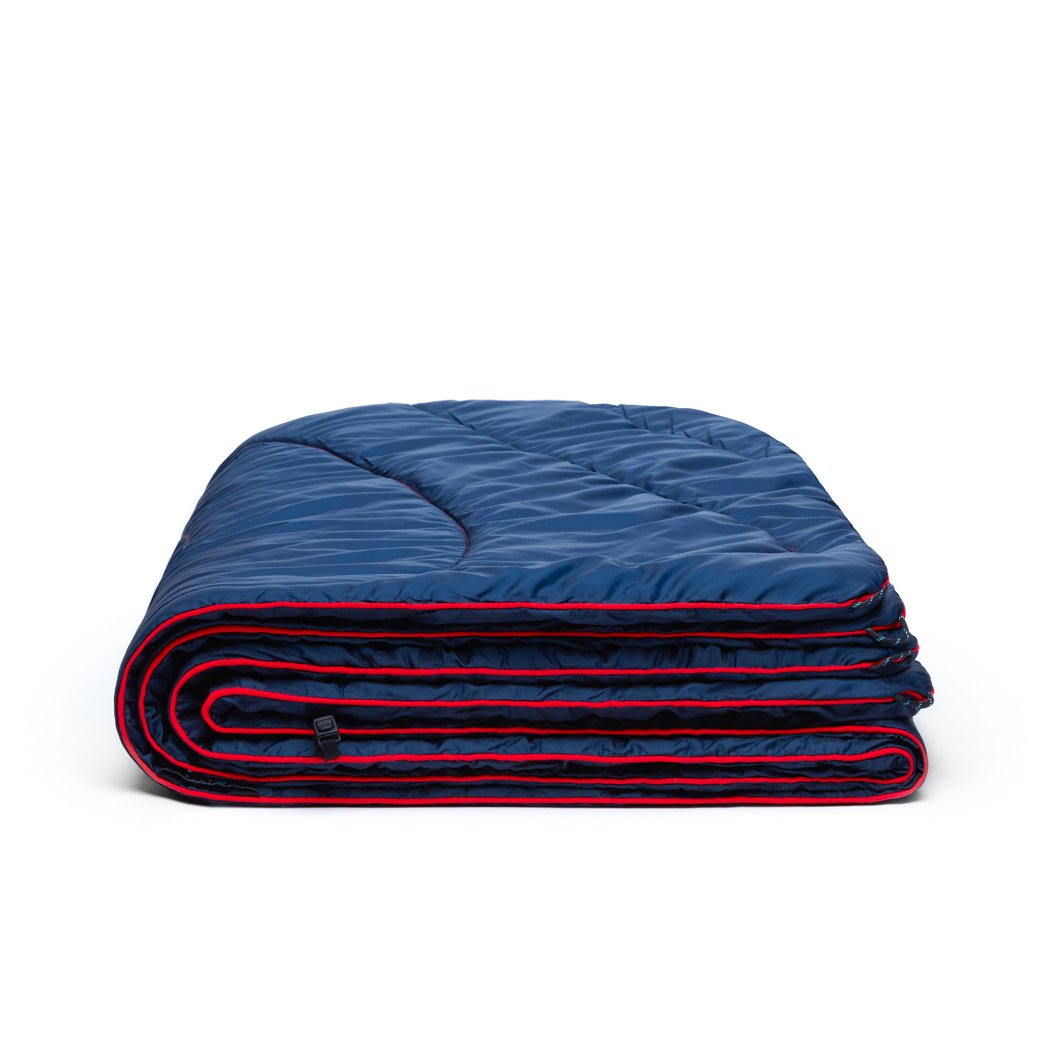 Rumpl | Original Puffy Blanket - Deepwater | 1-Person |  | Solid Original