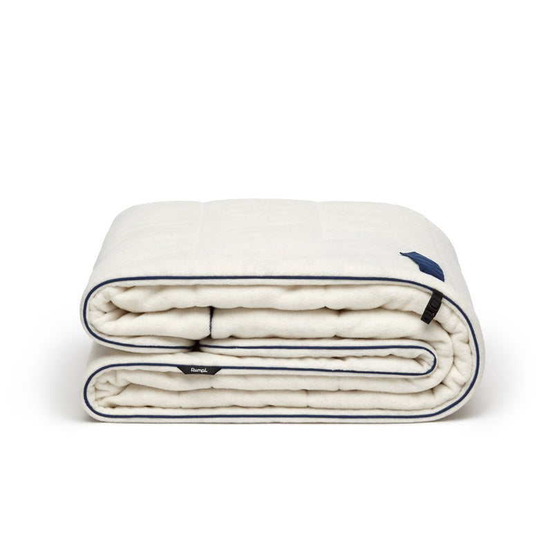 Rumpl | Polar Puffy Blanket - Oatmeal Heather | Throw / Oatmeal Heather | Oatmeal Heather | Polar Fleece