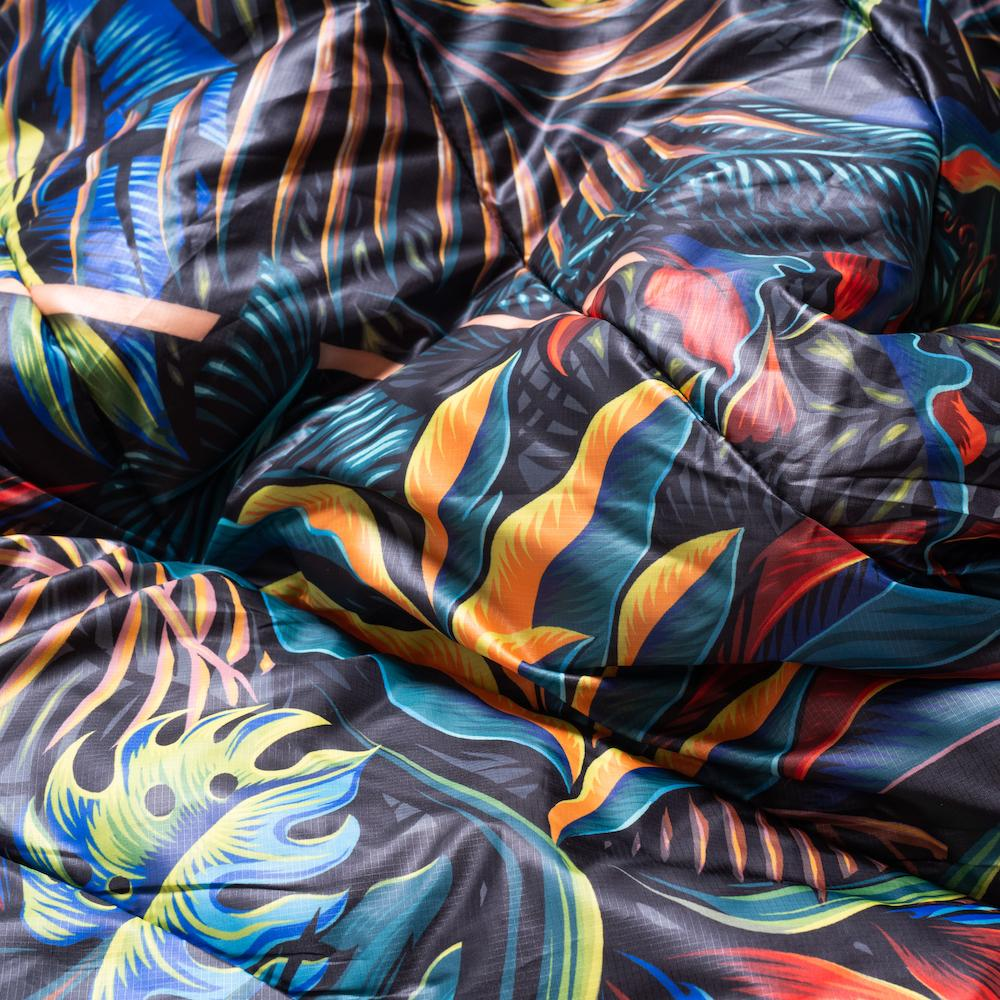 Rumpl | Original Puffy Blanket - Psychotropic | 1-Person |  | Printed Original