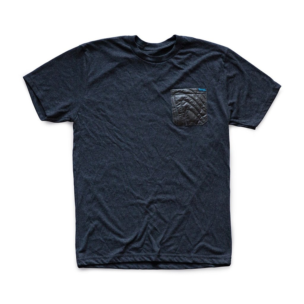 Rumpl | Puffy Pocket Tee | Small / Charcoal Heather | Charcoal Heather | apparel