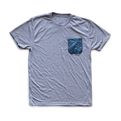 Rumpl | Puffy Pocket Tee | Small / Heather Grey | Heather Grey | apparel