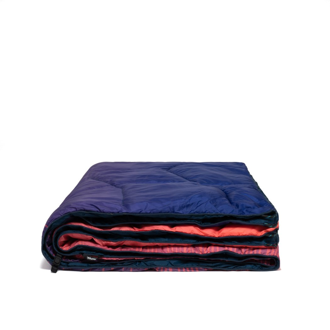 Rumpl | NanoLoft® Puffy Blanket - Ripple Fade | 1-Person |  | Printed Nanoloft