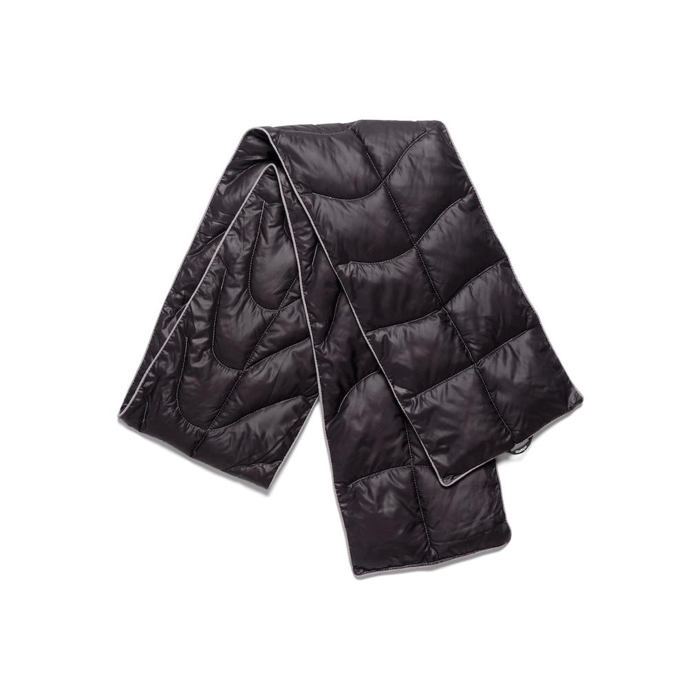 Rumpl | The NanoLoft® Puffy Scarf | Black / One Size | One Size | Scarf