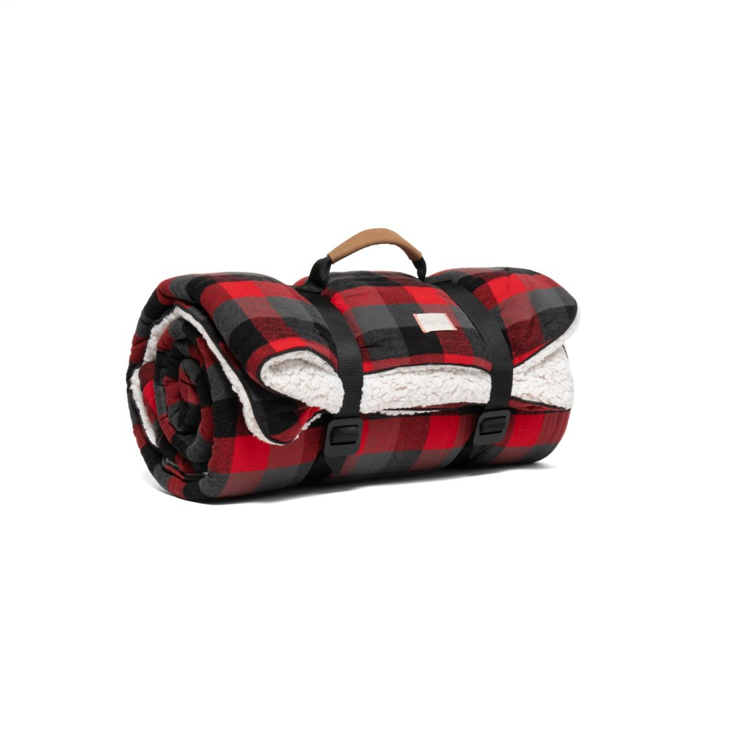 Rumpl | Flannel Sherpa - Buffalo Plaid | Throw |  | Flannel Sherpa