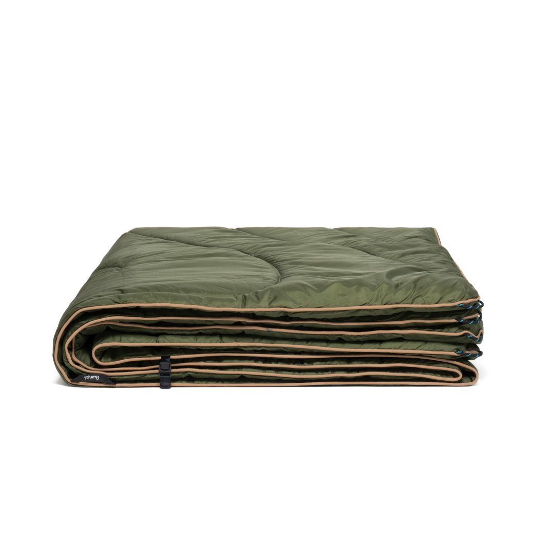 Rumpl | Original Puffy Blanket - Cypress | 1-Person |  | Solid Original