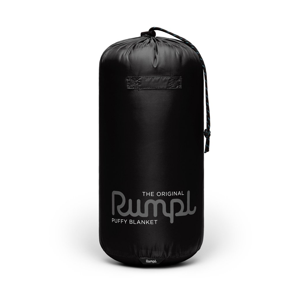 Rumpl | Original Puffy Blanket - Black | 1-Person |  | Solid Original