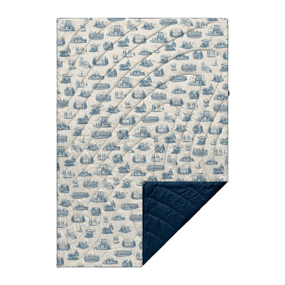Rumpl | Original Puffy Blanket - PDX Toile | 1-Person |  | Printed Original
