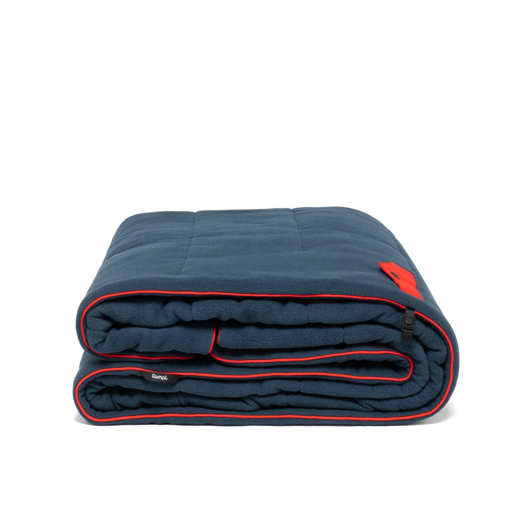 Rumpl | Polar Puffy Blanket - Deepwater | Throw |  | Polar Fleece