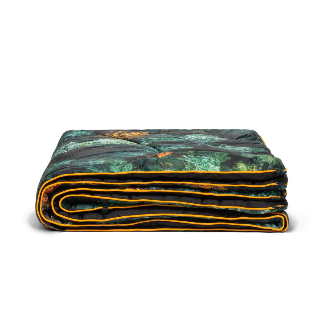 Rumpl | Original Puffy Blanket - Falliage | 1-Person |  | Printed Original