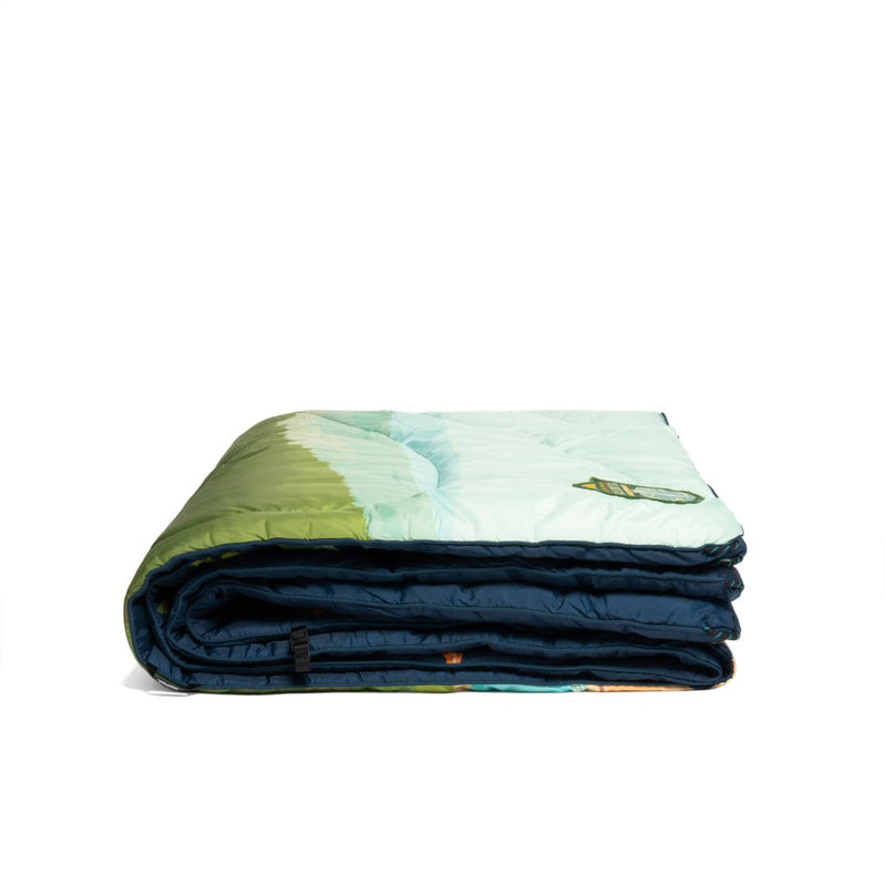 Rumpl | Original Puffy Blanket - Yellowstone | 1-Person |  | Printed Original