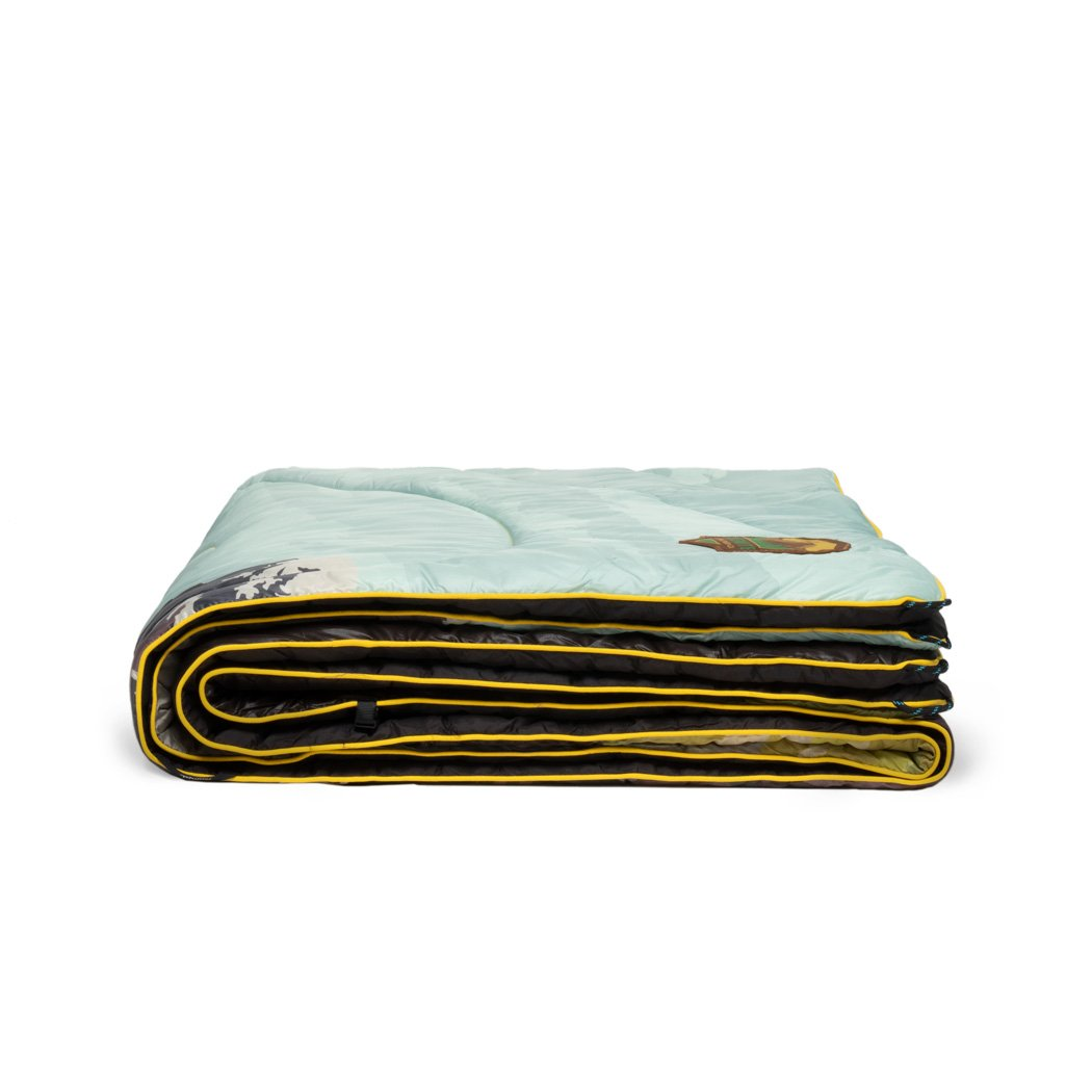 Rumpl | Original Puffy Blanket - Yosemite | 1-Person |  | Printed Original