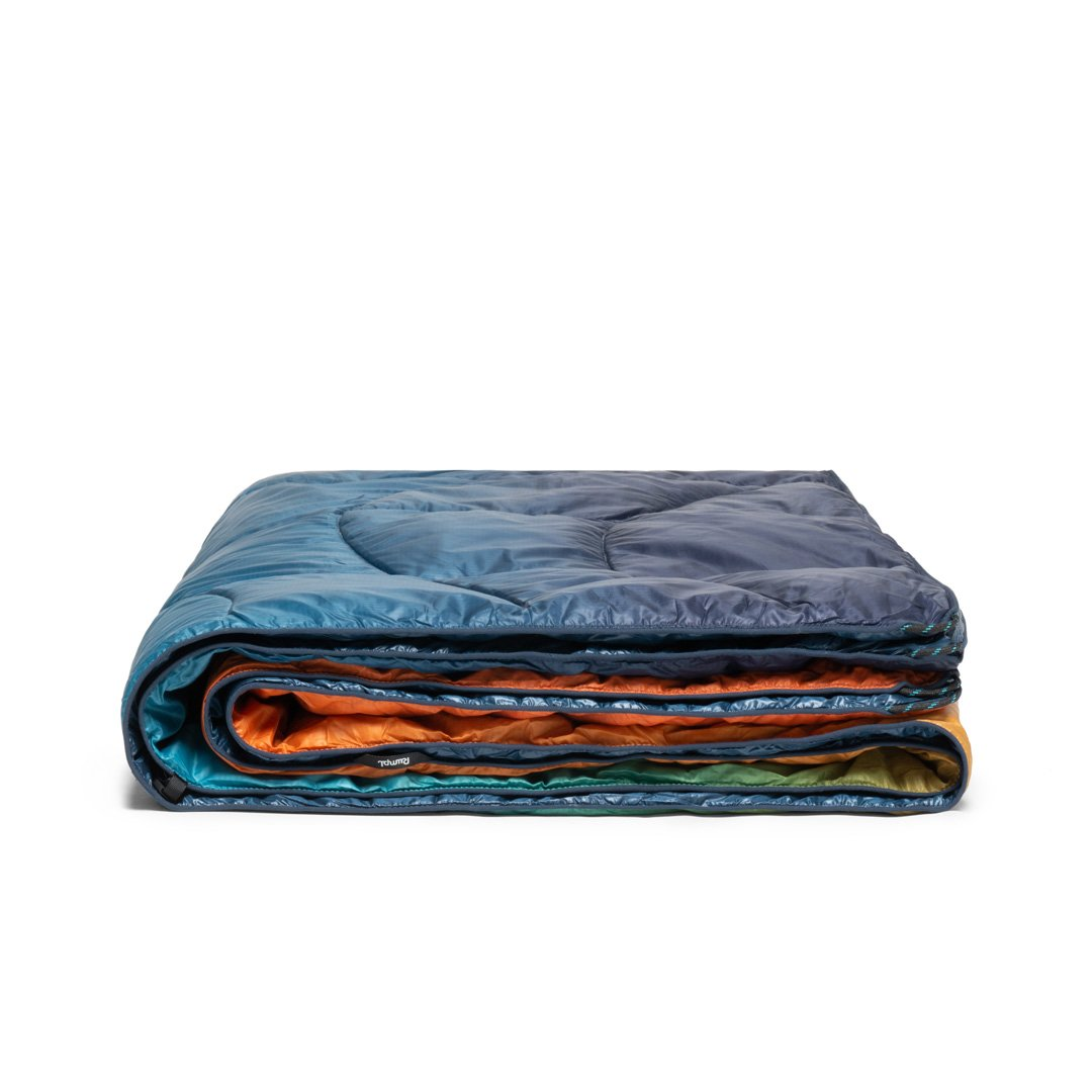 Rumpl | Down Puffy Blanket - Baja Fade | 1-Person |  | Printed Down