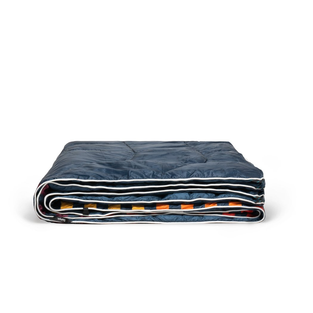 Rumpl | Down Puffy Blanket - Deepwater Rays | 1-Person |  | Printed Down