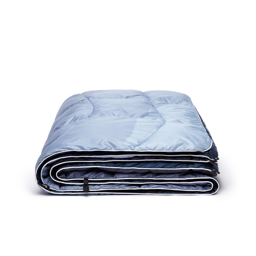 Rumpl | Down Puffy Blanket - Cascade Fade | 1-Person |  | Printed Down