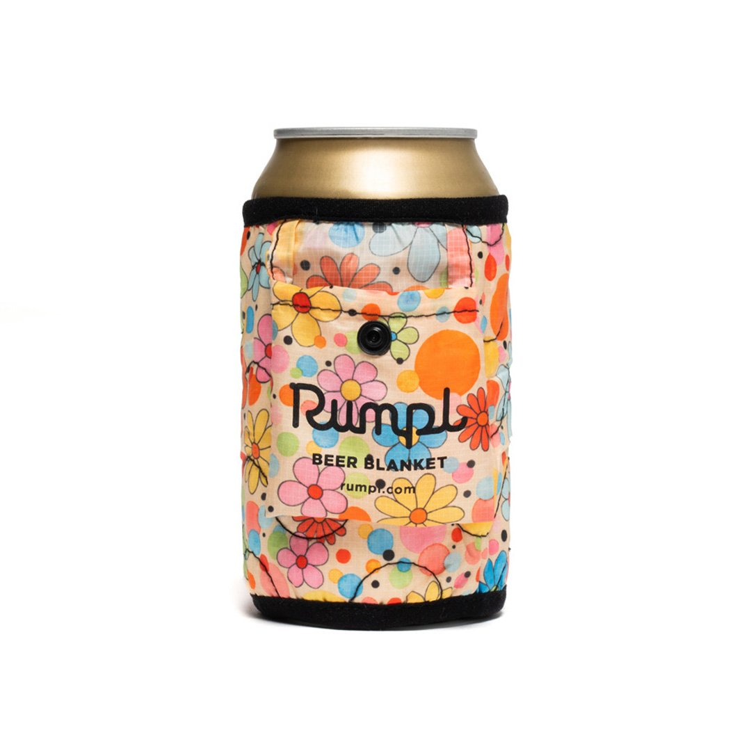 Rumpl | Beer Blanket - Dots & Daisies | One Size |  | Beer Blanket