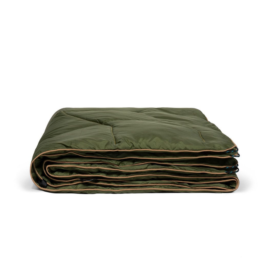 Rumpl | NanoLoft® Puffy Blanket - Cypress | 1-Person |  | Solid Nanoloft