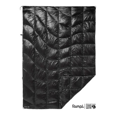 Rumpl | Mountain Hardwear® Mountaineer Blanket | Void / 1-Person | 1-Person | Mountaineer Blanket