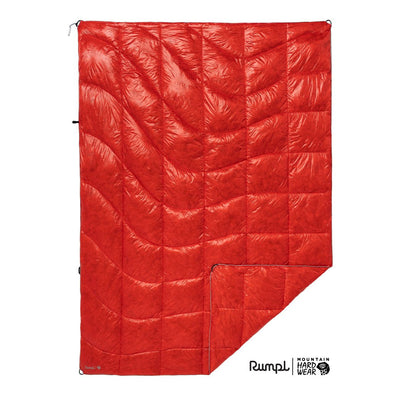Rumpl | Mountain Hardwear® Mountaineer Blanket | Fiery Red / 1-Person | 1-Person | Mountaineer Blanket
