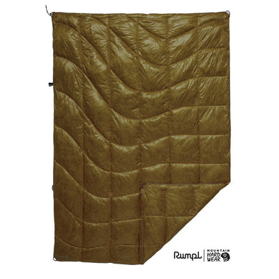 Rumpl | Mountain Hardwear® Mountaineer Blanket | Dark Bolt / 1-Person | 1-Person | Mountaineer Blanket