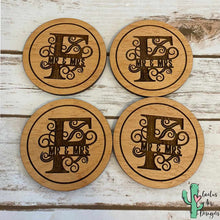 Load image into Gallery viewer, Monogram Coasters