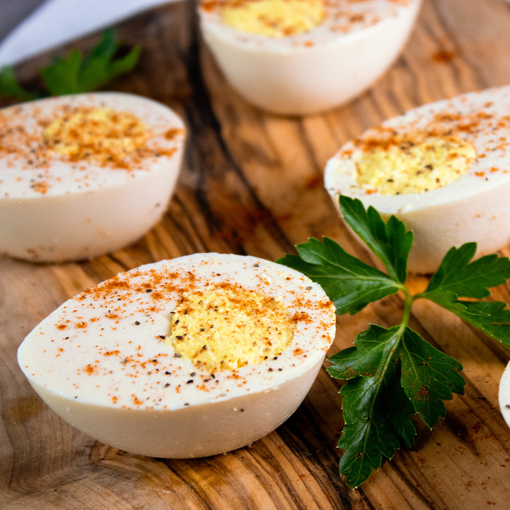 Vegan Hard Boiled Eggs for Passover Seder