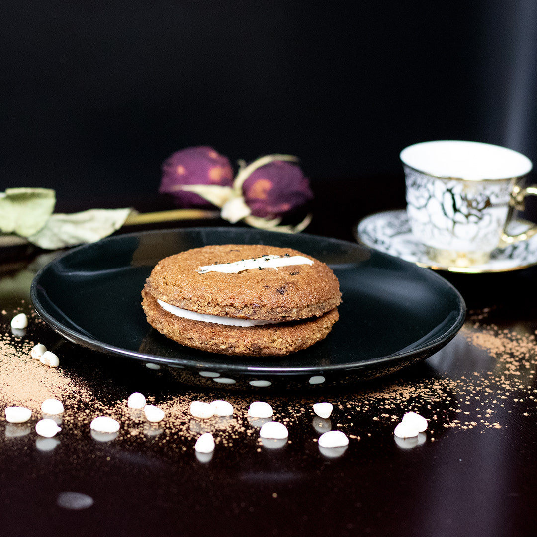 Gluten-Free Coffee Cookie Sandwich