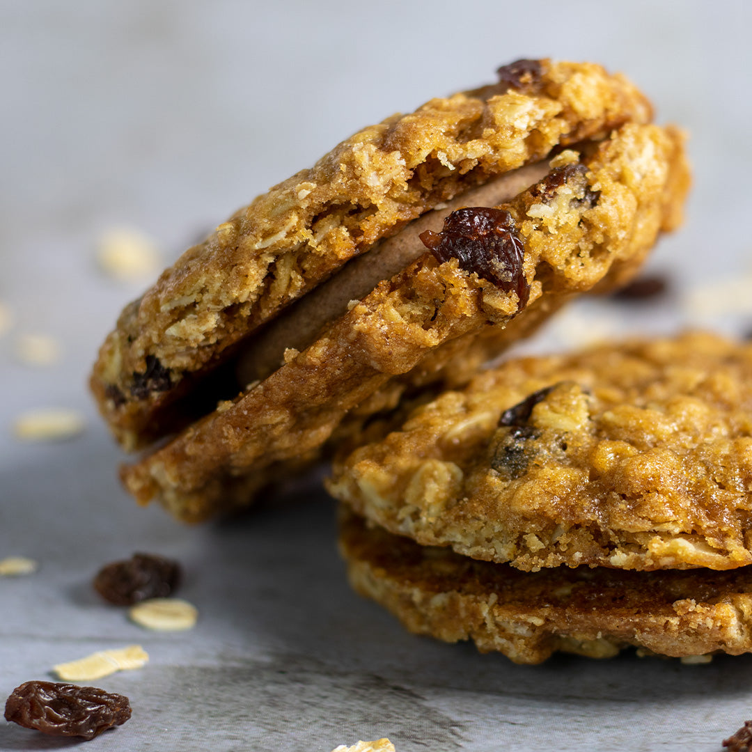 Oatmeal Raisin Cookie Sandwich