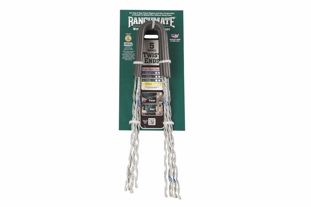 Insulated Small TwistEnds - Smooth Wire Fence Termination | Ranchmate