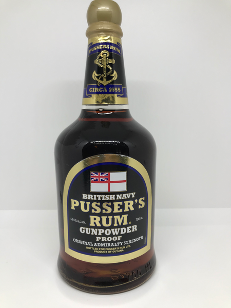 Pussers Navy Strength Rum