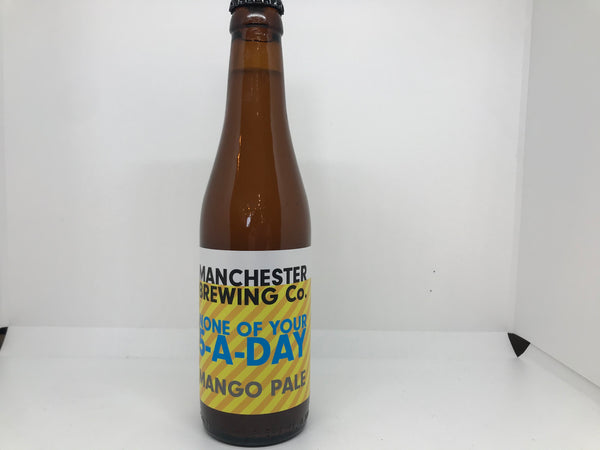 Manchester Brewing Co None of your 5 a day