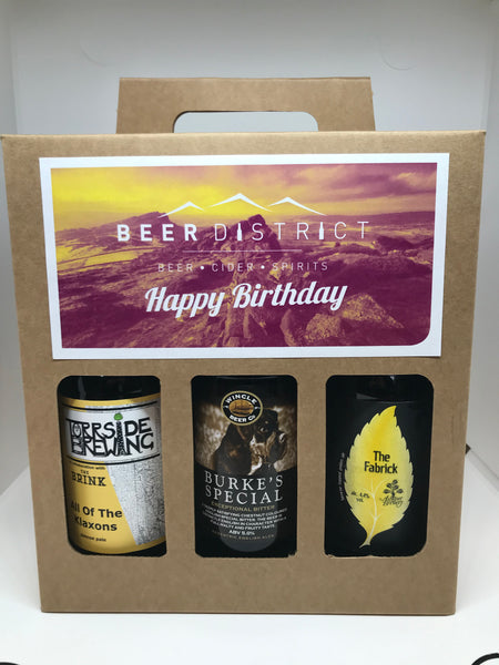 6 Beer Gift Set ( Happy Birthday )