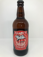 Saxby's Strawberry Cider